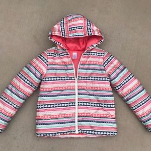 Gymboree Fair Isle Puffer Jacket